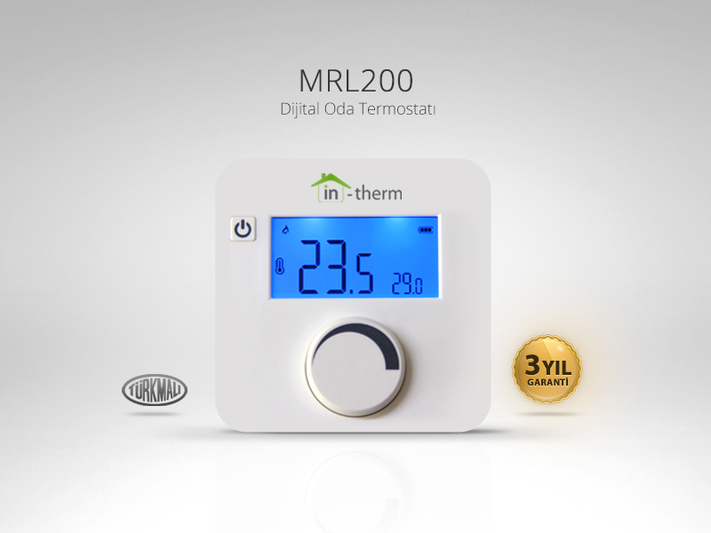 in-therm MRL-200-TM Dijital Oda Termostatı
