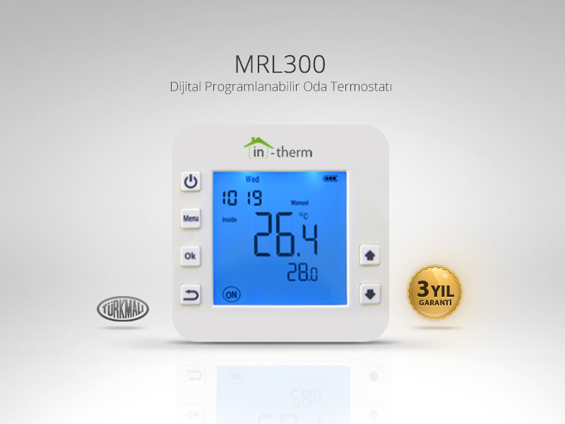 in-therm MRL-300-TM Programlanabilir Oda Termostatı